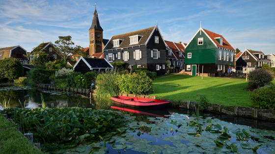 Marken Museum wallpaper