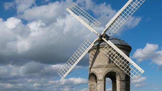 Chesterton Windmill wallpaper