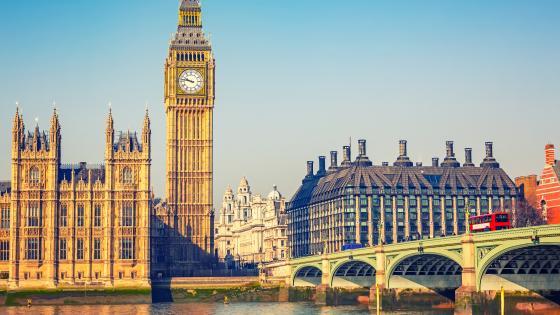 Big Ben and Westminster Bridge wallpaper