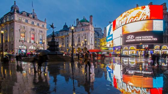 Piccadilly Circus wallpaper