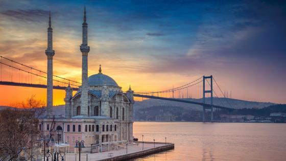 Ortaköy Mosque wallpaper