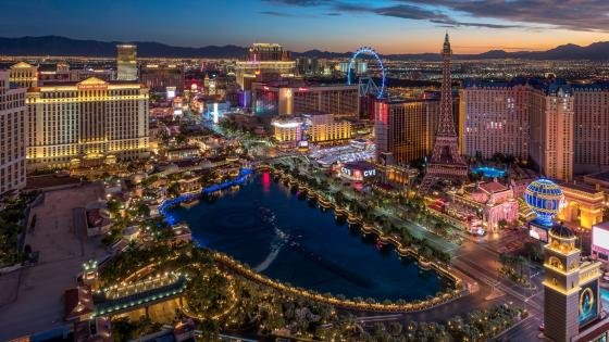 Las Vegas skyline wallpaper