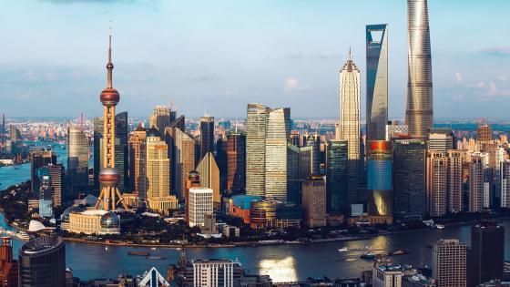 Shanghai World Financial Center wallpaper