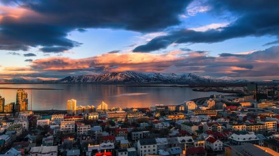 Reykjavík wallpaper