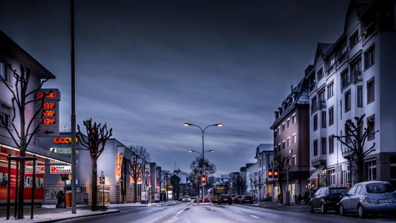 Arbon in wintertime wallpaper