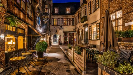 Relais Bourgondisch Cruyce Hotel, Bruges, Belgium wallpaper