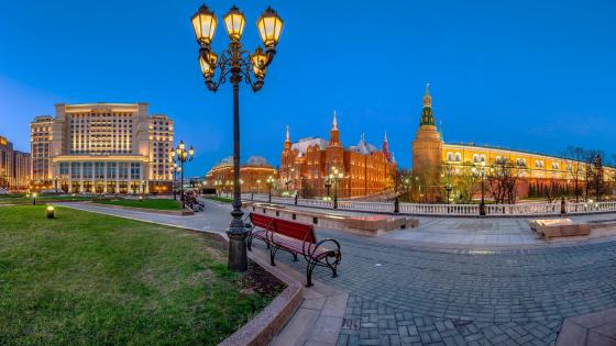 Manege Square, Moscow wallpaper
