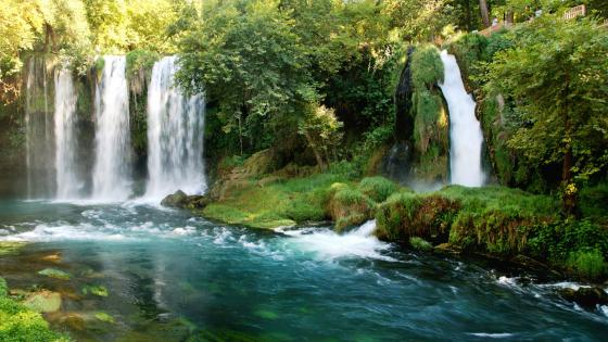 Duden Waterfalls wallpaper