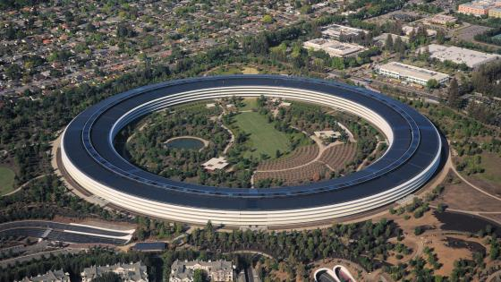 Aerial View of Apple Park wallpaper