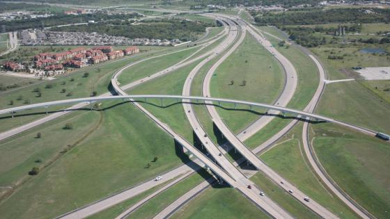I-820 & I-20 in Fort Worth wallpaper