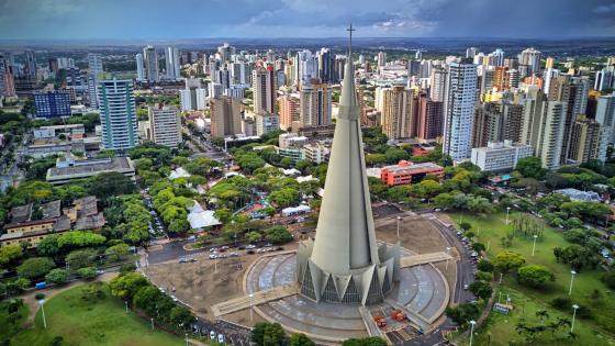 Maringa Cathedral, Brasil wallpaper