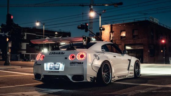Nissan GT-R R35 wallpaper