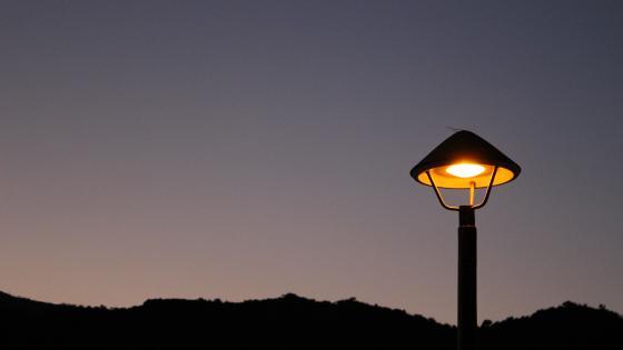 Night Lamp wallpaper