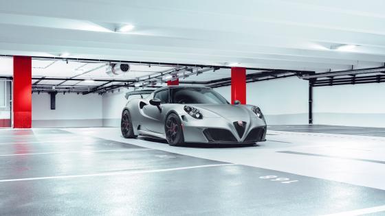 Alfa Romeo 4C Pogea Racing Nemesis wallpaper