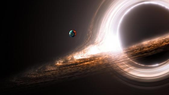 Black hole wallpaper