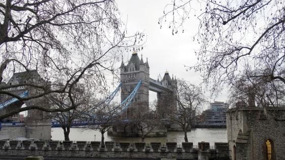 Tower Bridge im Winter wallpaper