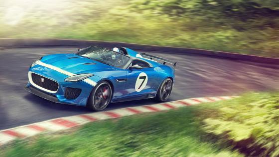 Jaguar F-Type Project 7 wallpaper