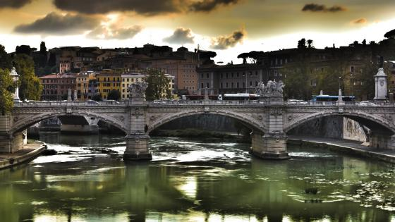 Bridge Of Angels, Rome wallpaper