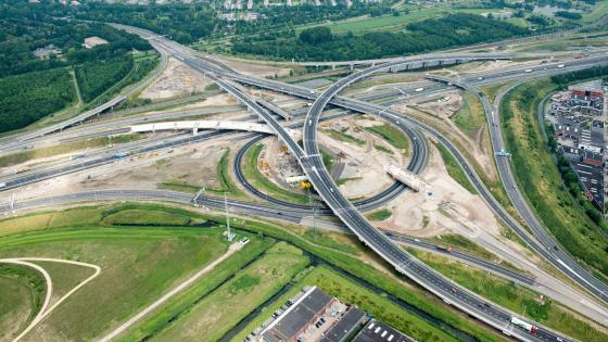 The Vaanplein Junction (A15 Motorway & A29 Motorway) wallpaper