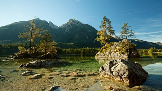 Hintersee (Berchtesgaden National Park) wallpaper