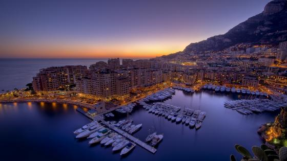 Port Hercules, Monaco wallpaper
