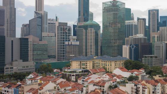 Singapore Central Business District wallpaper