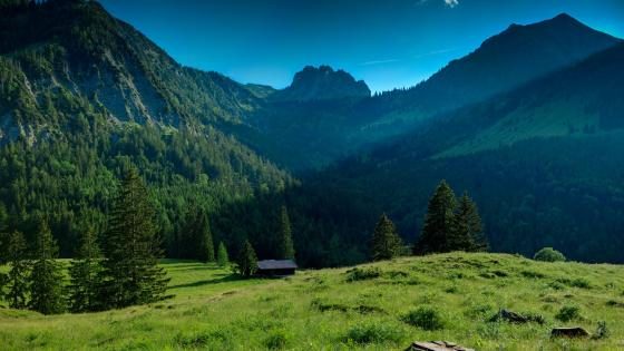 Bavarian Alps wallpaper