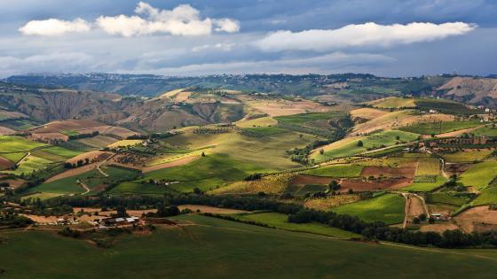 Italian landscape wallpaper