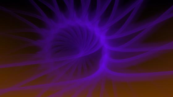 The purple sun is rising wallpaper