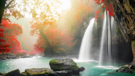 Haew Narok Waterfall, Khao Yai National Park wallpaper