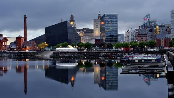 Royal Albert Dock Liverpool wallpaper