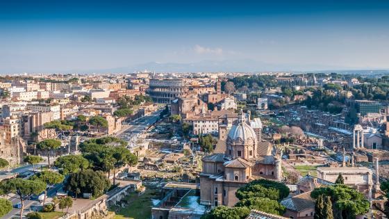 Rome cityscape wallpaper