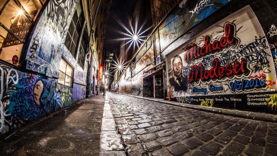 Melbourne Alley wallpaper