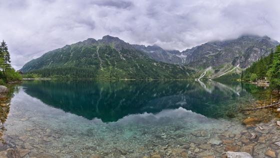 Morskie Oko Lake, Tatra Mountains wallpaper