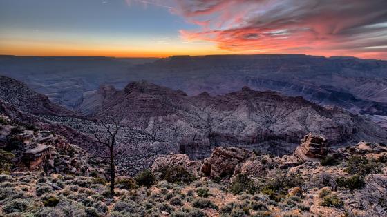 Grand Canyon National Park panoramic view wallpaper