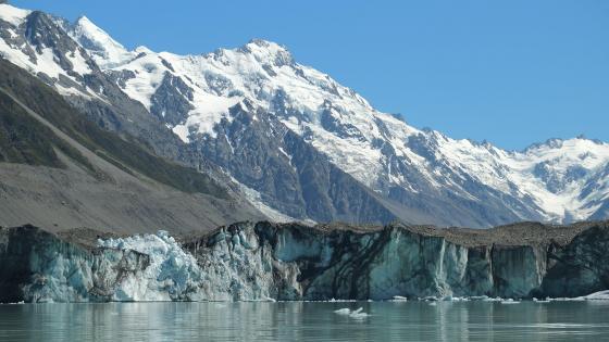 Tasman Glacier & Tasman Lake wallpaper