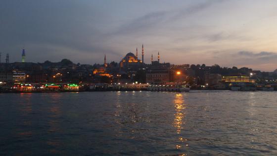 İstanbul Night wallpaper