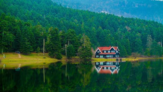 Gölcük Lake, Gölcük Nature Park wallpaper