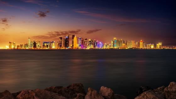 Doha, Qatar wallpaper