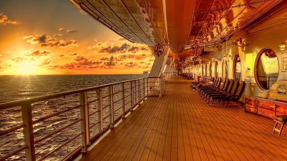 Cruise ship wallpaper