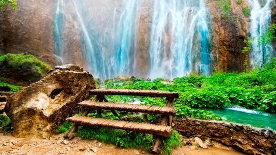 Plitvice Lakes National Park, Croatia wallpaper