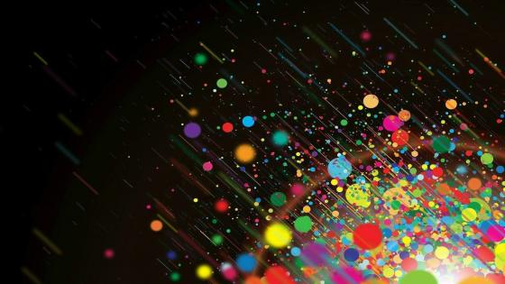 Color Bubbles wallpaper