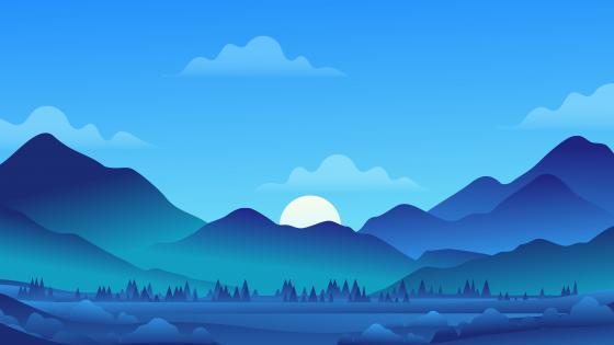 Minimal Landscape wallpaper