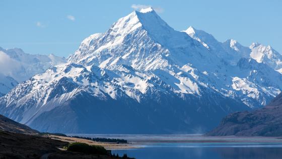 Aoraki/Mount Cook National Park, Lake Pukaki wallpaper