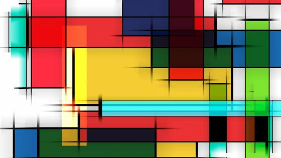 Retro design abstract art wallpaper