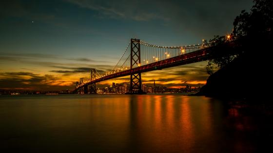 San Francisco–Oakland Bay Bridge wallpaper