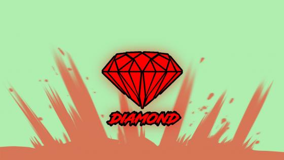 red diamond wallpaper