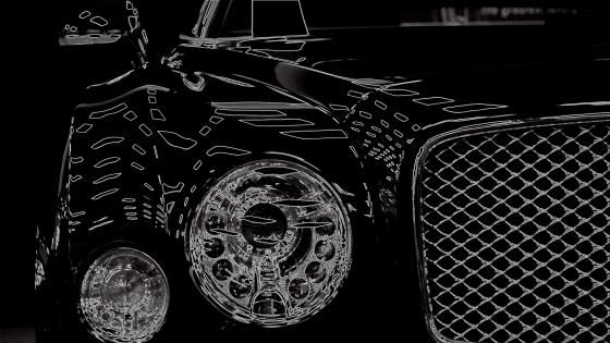 Bentley Monochrome Digital Art wallpaper