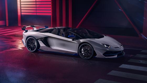 Lamborghini Aventador SVJ Xago Roadster wallpaper