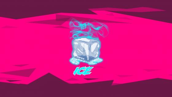 Smoking Icecube wallpaper